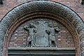Handelsschule Am Lämmermarkt (Hamburg-St. Georg).Eingang.Wappen rechts.29328.ajb.jpg