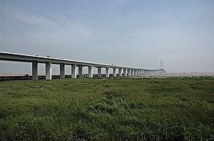 G15 Shenyang–Haikou Expressway - Image: Hangzhou Bay Bridge ABA 1360 AK1