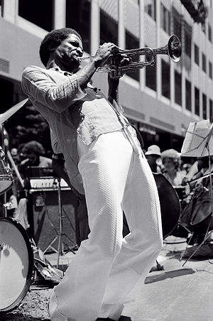 Hannibal Lokumbe - Peterson performing in New York City July 6, 1976
