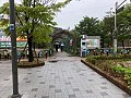 Hanyang Univ station plaza street 20180423.jpg