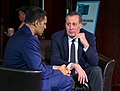 Hari Sreenivasan interviews Anthony Marx, from the New York Public Library, at the 2019 Knight Foundation Media Forum (46305388715).jpg