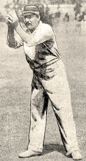 Harry Trott - Trott was an outstanding fielder, usually at point