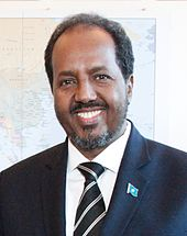 Präsident Hassan Sheikh Mohamud
