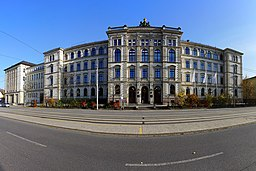 Hauptgebäude der TU Chemnitz, 2015