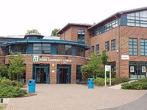 Uxbridge College - The Hayes campus building
