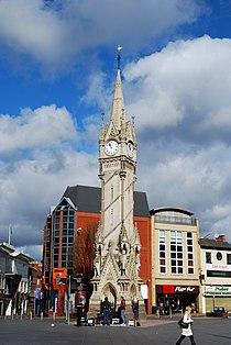 Haymarket Memorial Clock Tower (March 2010).JPG
