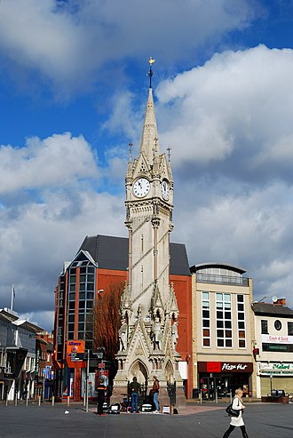 Haymarket Memorial Clock Tower - The Clock Tower
