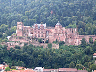 House of Wittelsbach - Heidelberg Castle of the Electors of Palatinate