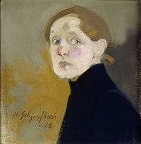 Helene Schjerfbeck - Omakuva (1912).jpg