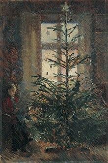 danmarks første juletræ