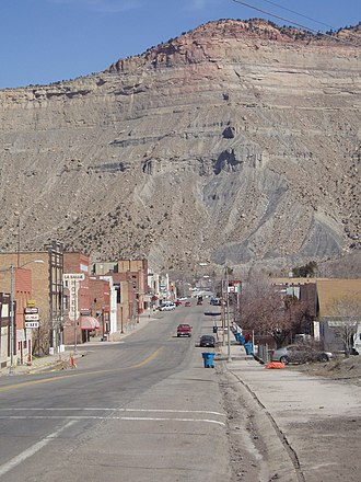 Helper, Utah - Along Main Street