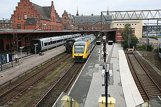 North Zealand - Helsingør Station