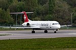 Helvetic Airways, HB-JVF, Fokker F100, 2017-04-22@LUX-105.jpg