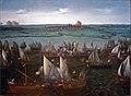 Hendrik Vroom - Gevecht tussen Hollandse en Spaanse schepen op het Haarlemmermeer 001.JPG