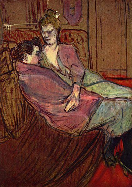 Les Deux Amies d'Henri Toulouse Lautrec (1894).