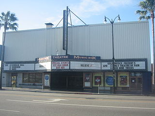 The Fonda Theatre music venue and former movie theater in Los Angeles, California, United States