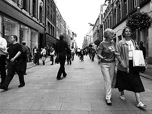 Henry Street, Dublin - Shopping in Henry Street