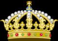 Heraldic Royal Crown of Aragon (Variant).png