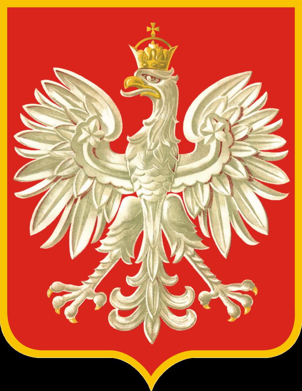 Herb Rzeczypospolitej Polskiej (1956 - 1990)
