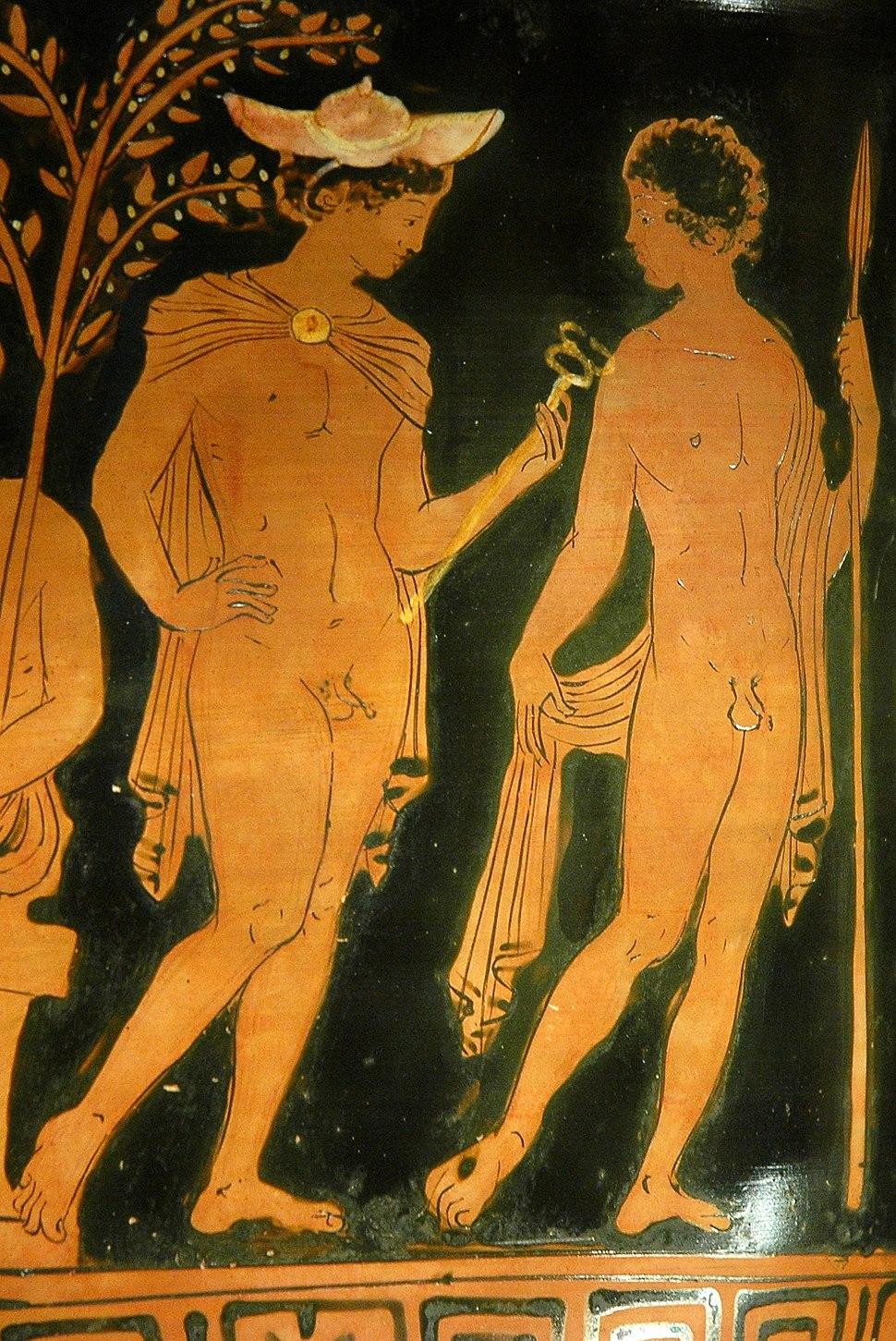 Hermes warrior Louvre G515