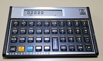 HP-15C - The Hewlett Packard 15C from the 1980s