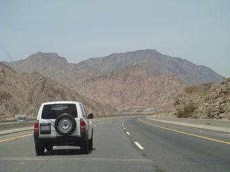 Transport in Saudi Arabia - Image: Highway 60Saudi Arabia
