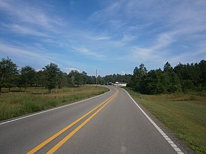 Mississippi Highway 53 - MS 53 in Lizana
