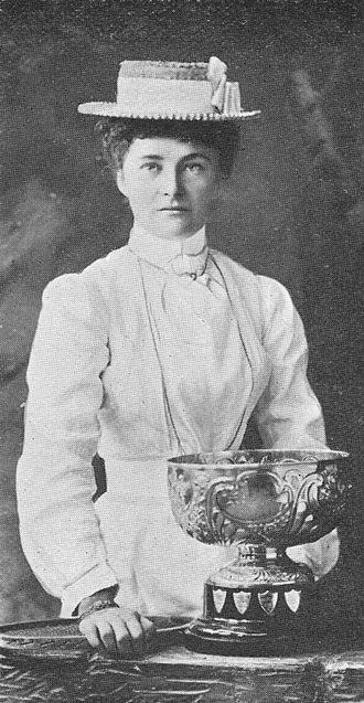 Hilda Lane - Lane, ca. 1903