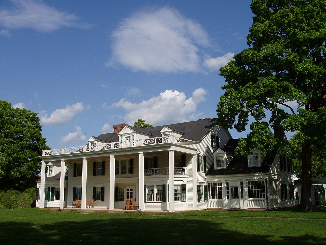 File Hill Stead Museum Farmington Ct West Facade Jpg
