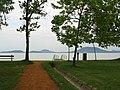 Hill Badacsony from Balatonfenyves. Foto by Victor Belousov - panoramio.jpg