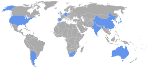 2006 Women's Hockey World Cup - Participating nations