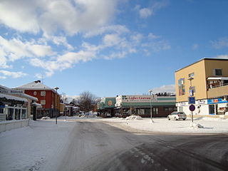 Hofors Place in Gästrikland, Sweden