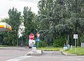 Holding tank dump station autostrada A1, service area San Zenone, Italy-8975.jpg