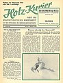 Holzkurier Cover 1956