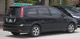 Honda Stream (first generation, first facelift) (rear), Serdang.jpg