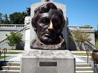 Alexander Hesler - Gutzon Borglum bust, 1908.