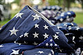 Honoring a symbol, Team Seymour holds flag retiring ceremony 140614-F-OB680-010.jpg