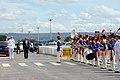 Honras militares ao secretário de Defesa e Desenvolvimento Urbano do Sri Lanka, Gotabaya Rajapaksa. (11969932556).jpg
