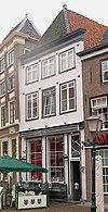foto van Huis met 17e-eeuwse gepleisterde gevel