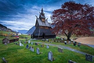 Iver Leganger - Hopperstad Stave Church in Vik