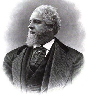 Horace Henry Baxter - Frontispiece of the 1884 commemorative book Memorial: H. Henry Baxter
