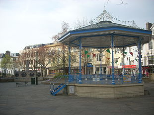 Bandstand in the centre of Carfax