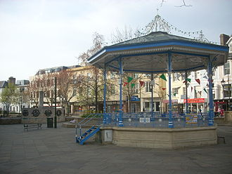 Horsham - Image: Horsham bandstand april 2009