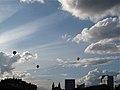 Hot air balloons over Vilnius, Lithuania (4957045812).jpg