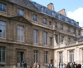 Musée Picasso - Picasso Museum, Paris, main entrance