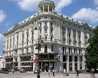 Hotel Bristol - The Hotel Bristol in Warsaw