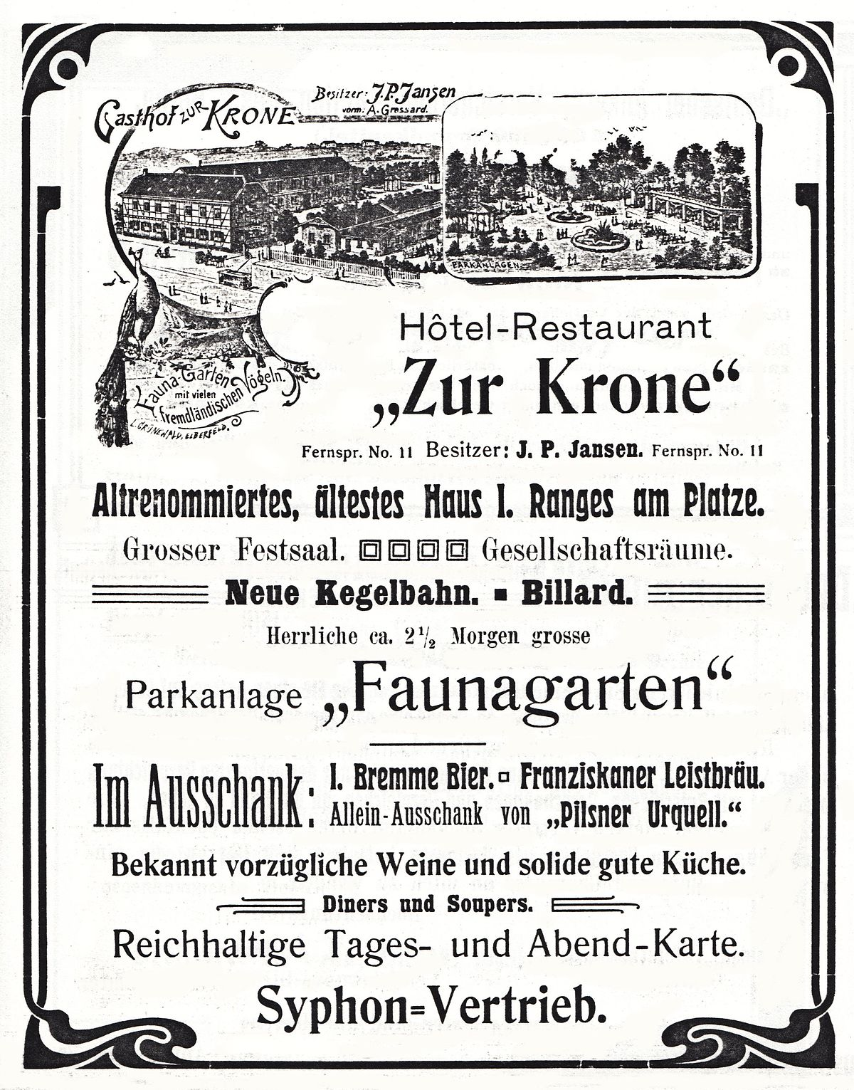 Hotel Restaurant Krone Am Obertor