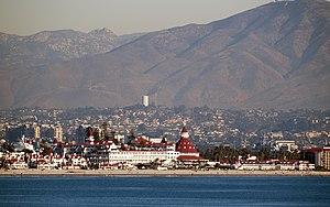 Coronado, California - The Hotel del Coronado in December 2008