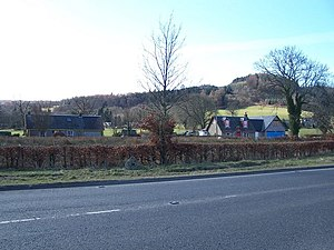 Arden, Argyll - Image: Houses at Arden