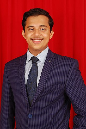 Hridith Sudev - Portrait of Hridith Sudev, one of the winners of Young EcoHero Award 2017